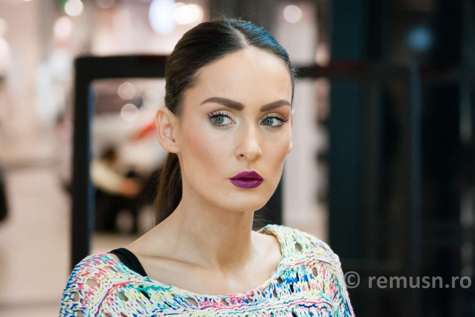 Machiaj Mac Cosmetics Pentru Prezentare Lashez Promenada Fotograf